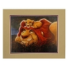 Disney Artist Print - Simba and Mufasa - Lion King The Bond by Darren Wilson