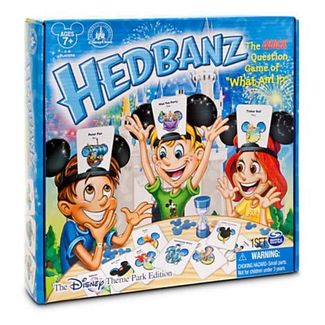 Disney Hedbanz Game Disney Theme Park Edition