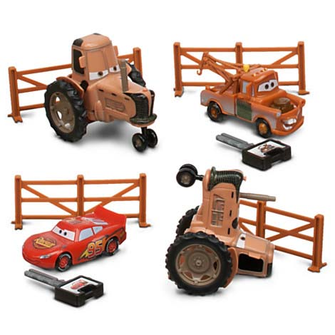 Disney figurine set cars tractor tipping play set - Tracteur cars ...
