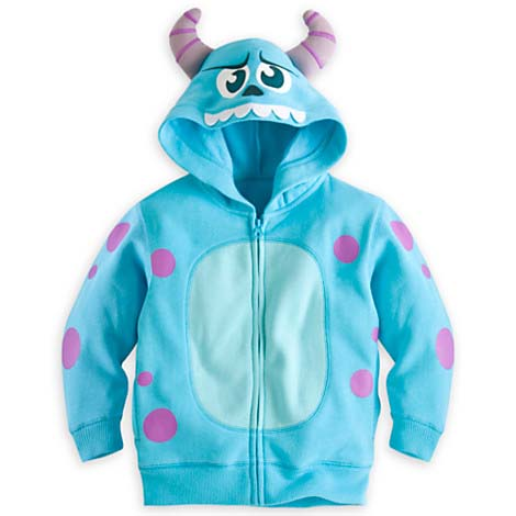 Your wdw store disney child hoodie instant costume sulley disney child hoodie instant costume sulley monsters inc voltagebd Image collections