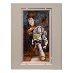 Disney Artist Print - Darren Wilson - Buzz and Woody