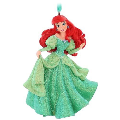 disney christmas ornament ariel dress the little mermaid - Little Mermaid Christmas Ornaments