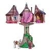 Disney Figurine Set - Rapunzel Tower Play Set - Tangled
