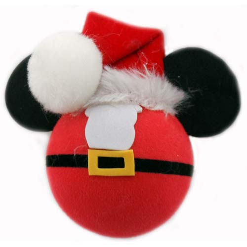 disney antenna topper christmas mickey mouse santa - Christmas Toppers