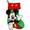 Disney Christmas Holiday Stocking - Mickey Mouse Icons