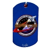 Disney Engraved ID Tag - Mission Space Seal - We Choose to go