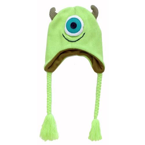 Disney Hat - Beanie Hat - Monsters University - Mike Wazowski 643cda0bfb7