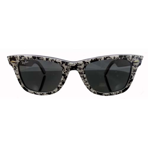 3dedab5c26a Disney Sunglasses - Rayban - Black and White Mickey Mouse - Exterior
