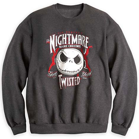 Add to My Lists. Disney Adult Sweatshirt - Nightmare Before Christmas 20th Anniversary