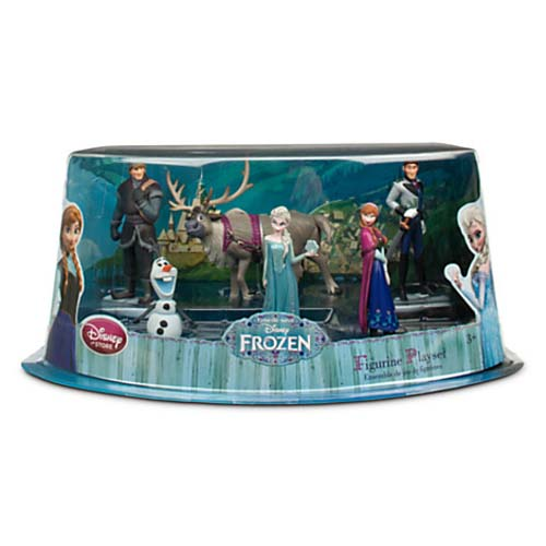 Disney Figurine Set - Frozen Play Set