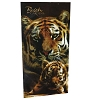 Busch Gardens Beach Towel - Tiger Mom & Cub