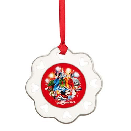 Disney Disc Ornament - 2014 Logo - Mickey and Friends