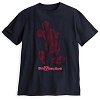 Disney Adult Shirt - Red Mickey Mouse Cutout Tee