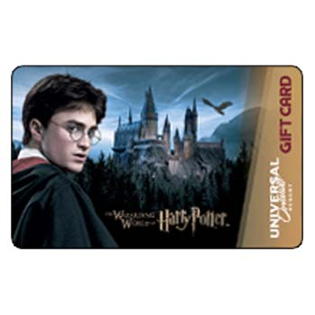 Universal Collectible Gift Card - Harry Potter - Harry Potter