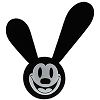 Disney Antenna Topper - Oswald the Lucky Rabbit