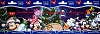 Disney Christmas Pin - Gift Card Limited - Character Ornament SET