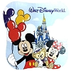 Disney Magic Towel - Mickey Mouse Minnie Duffy the Bear Balloons