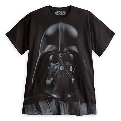1dce97673473d Disney Adult Shirt - Star Wars - Darth Vader Sith Lord Face. Touch to zoom