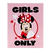 Disney Door Sign - Minnie Mouse - Girls Only