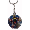Disney Keychain Keyring - 2014 Logo - Mickey and Friends - Spinner