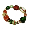 Disney Stretch Bracelet - Christmas Decorations - Stone Charm Gold