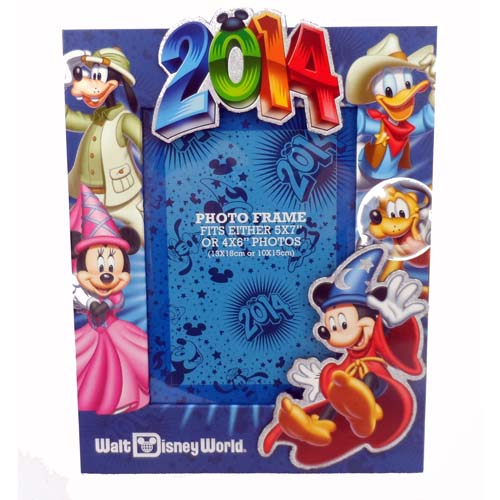 Your WDW Store - Disney Picture Frame - 2014 - 4 x 6 or 5 x 7 Mickey ...