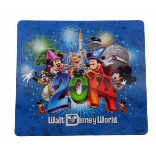 Disney Mousepad - 2014 Mickey and Friends - Lenticular