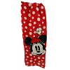 Disney Scarf - Minnie Mouse Face - Red w / White Polka Dot