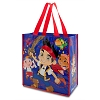 Disney Tote Bag - Jake and the Neverland Pirates Reusable Shopper - Red