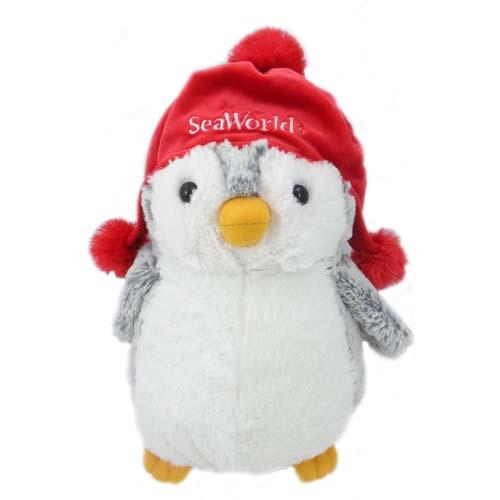 Seaworld Plush Small Penguin Winter Hat 11