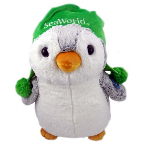 Seaworld Plush Large Penguin Winter Hat 16