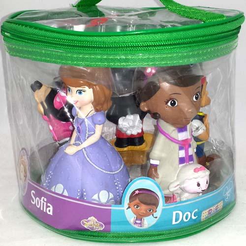 Disney Bath Toy Set Disney Junior Sophia Doc Jake Mickey