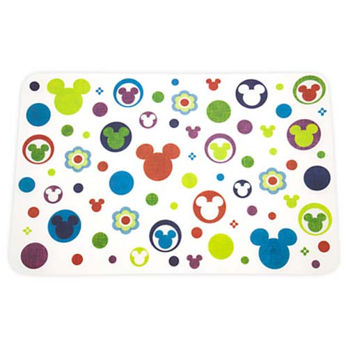 Disney Plastic Placemat - Color Fusion Vibrant Royal