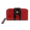 Disney Loungefly Wallet - Embossed - Minnie Loves Mickey - Red