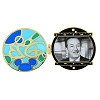Disney D23 Pin - Walt Disney World D23 Walt Stained Glass Pin