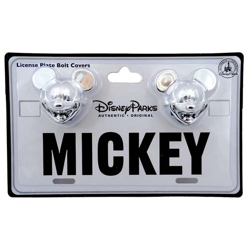 Disney License Plate Bolt Cover - Mickey Mouse Head