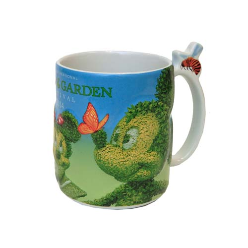 Your wdw store disney world mug flower and garden for Garden design fest 2014