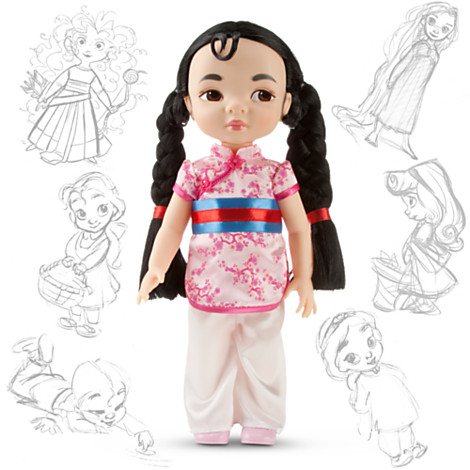 Disney Animators Collection Mulan Doll Series 2