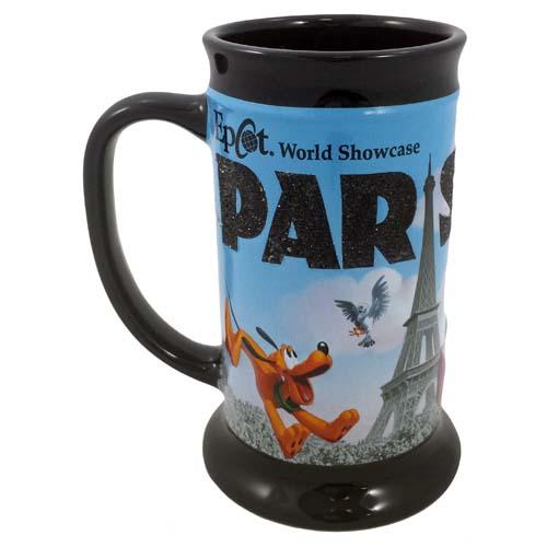 World Disney Showcase Mickey Coffee And Paris Cup Epcot Minnie In SMGUzVqp