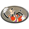 Disney Hidden Mickey Pin - 2013 B Series - Sport Goofy - Running