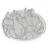 Disney Hidden Mickey Pin - 2013 B Series - Chaser - Goofy Equestrian