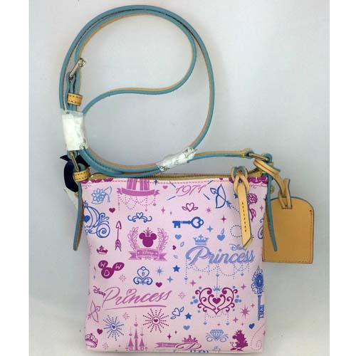 Disney Dooney Bourke Princess Marathon 2014 Bag Letter Carrier