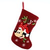 Disney Christmas Holiday Stocking - Santa Minnie - Joy