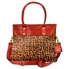 Disney Harveys Bag - Minnie Mouse Leopard - Marilyn Fold Over Tote