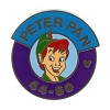 Disney Hidden Mickey Pin  - Magic Kingdom Parking Sign - Peter Pan