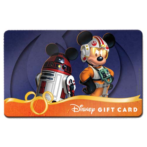 your wdw store - disney collectible gift card