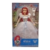 Disney Doll - The Little Mermaid - Bride Ariel with Jeweled Hair Brush