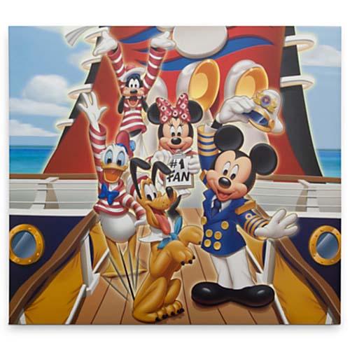 Disney Scrapbook 12 X 12 Captain Mickey Disney Cruise Line