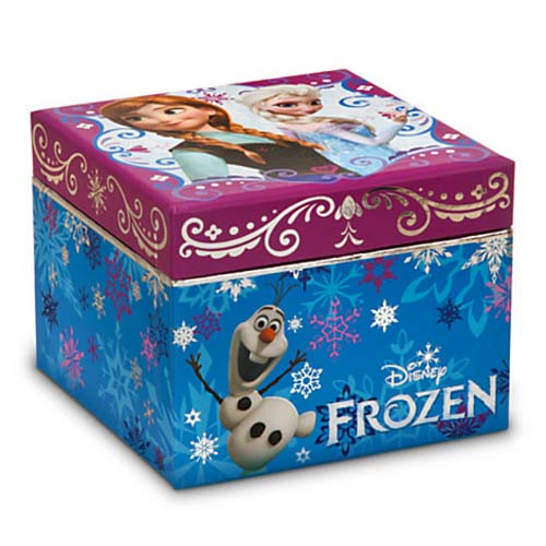 Your WDW Store Disney Trinket Box Frozen Jewelry Box Anna and