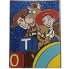 Disney Pin - 2013 PIXAR Mystery Collection - Woody Bullseye Jessie